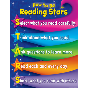 TCR7769 Reading Stars Chart Image