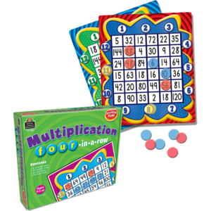 TCR7803 Multiplication: Four in a Row Game Image