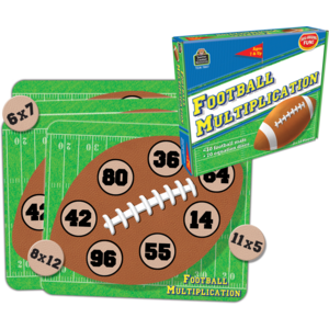 TCR7807 Football Multiplication Game Image