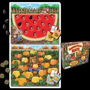 Garden Patch Math Game Image