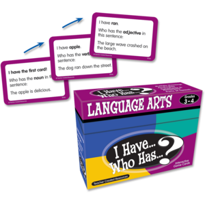 TCR7816 I Have, Who Has Language Arts Game Grade 3-4 Image