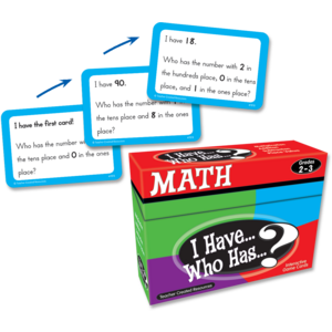 TCR7818 I Have, Who Has Math Game Grade 2-3 Image