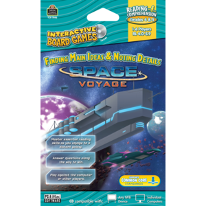 TCR7846 Space Voyage Computer Game CD Grade 4-5 Image