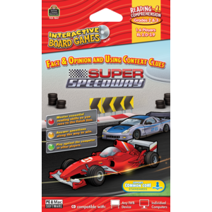 TCR7847 Super Speedway Computer Game CD Grade 2-3 Image