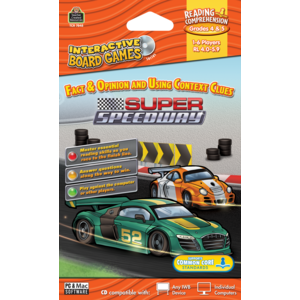 TCR7848 Super Speedway Computer Game CD Grade 4-5 Image