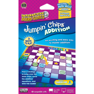 Jumpin Chips Computer Game: Addition Image