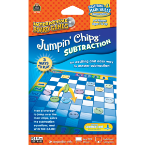 Jumpin Chips Computer Game: Subtraction Image