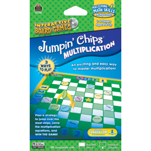 TCR7855 Jumpin Chips Computer Game: Multiplication Image