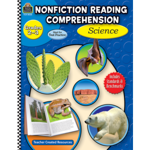 TCR8020 Nonfiction Reading Comprehension: Science, Grades 2-3 Image