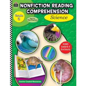 TCR8021 Nonfiction Reading Comprehension: Science, Grade 3 Image