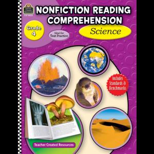 Nonfiction Reading Comprehension: Science, Grade 4 Image