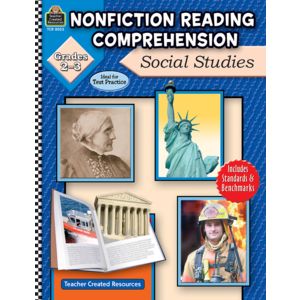 TCR8023 Nonfiction Reading Comprehension: Social Studies, Grades 2-3 Image