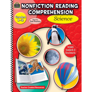 TCR8026 Nonfiction Reading Comprehension: Science, Grades 1-2 Image