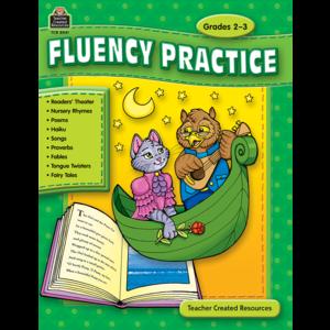 TCR8041 Fluency Practice, Grades 2-3 Image