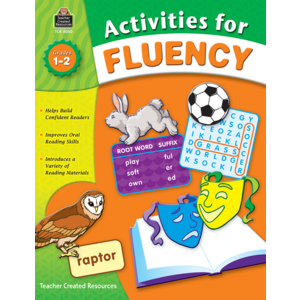 TCR8050 Activities for Fluency, Grades 1-2 Image