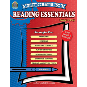 TCR8057 Strategies That Work! Reading Essentials, Grades 6 & Up Image