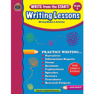 TCR8073 Write from the Start! Writing Lessons Grade 5 Image