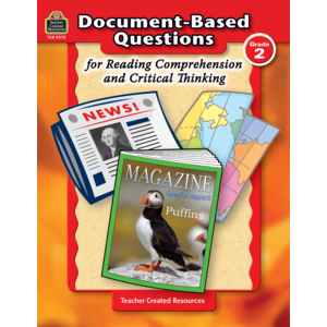 TCR8372 Document-Based Questions for Reading Comprehension and Critical Thinking Image