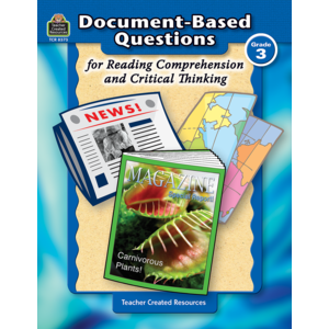 TCR8373 Document-Based Questions for Reading Comprehension and Critical Thinking Image