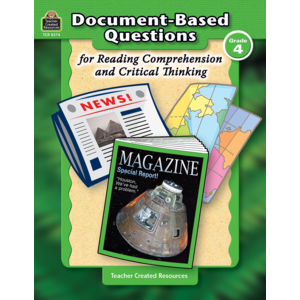 TCR8374 Document-Based Questions for Reading Comprehension and Critical Thinking Image