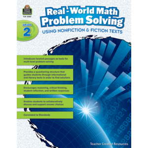 TCR8387 Real-World Math Problem Solving Grade 2 Image