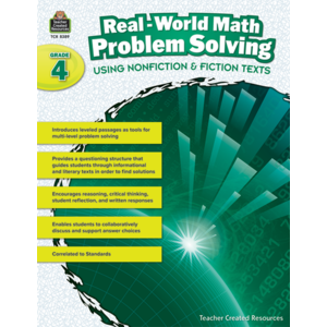 TCR8389 Real-World Math Problem Solving Grade 4 Image