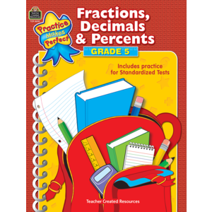 TCR8630 Fractions, Decimals & Percents Grade 5 Image