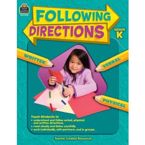 Following Directions Grade K Image