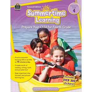 TCR8844 Summertime Learning Grade 4 Image