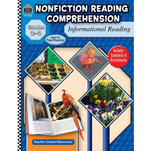 TCR8862 Nonfiction Reading Comprehension: Informational Reading, Grades 2-3 Image
