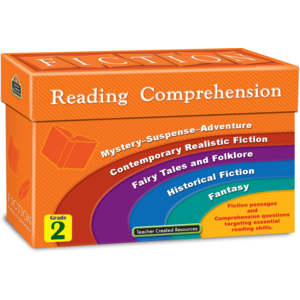 TCR8872 Fiction Reading Comprehension Cards Grade 2 Image
