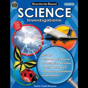 TCR8965 Standards-Based Science Investigations Grade 5 Image