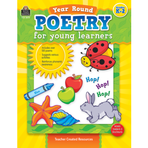 TCR8979 Year Round Poetry for Young Learners Image