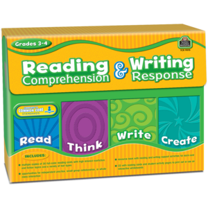 TCR9015 Reading Comprehension & Writing Response Grade 3-4 Image