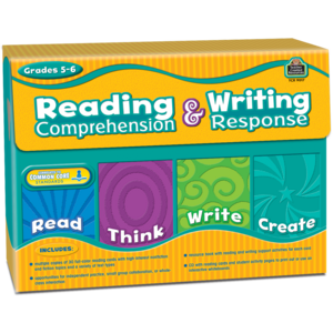 TCR9017 Reading Comprehension & Writing Response Grade 5-6 Image