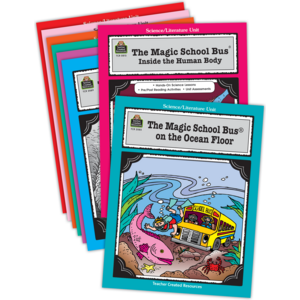 TCR9069 Magic School Bus Literature Units Set (8 Books) Image
