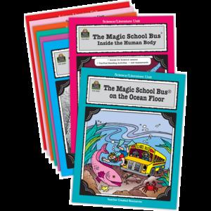 TCR9069 Magic School Bus Literature Units Set (8 Books) Image