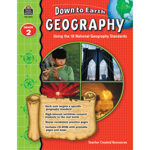 TCR9272 Down to Earth Geography, Grade 2 Image