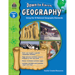 TCR9273 Down to Earth Geography, Grade 3 Image