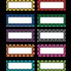Plaid Magnetic Labels Alternate Image A'}