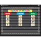 Chalkboard Brights Mini Pocket Chart Alternate Image A'}
