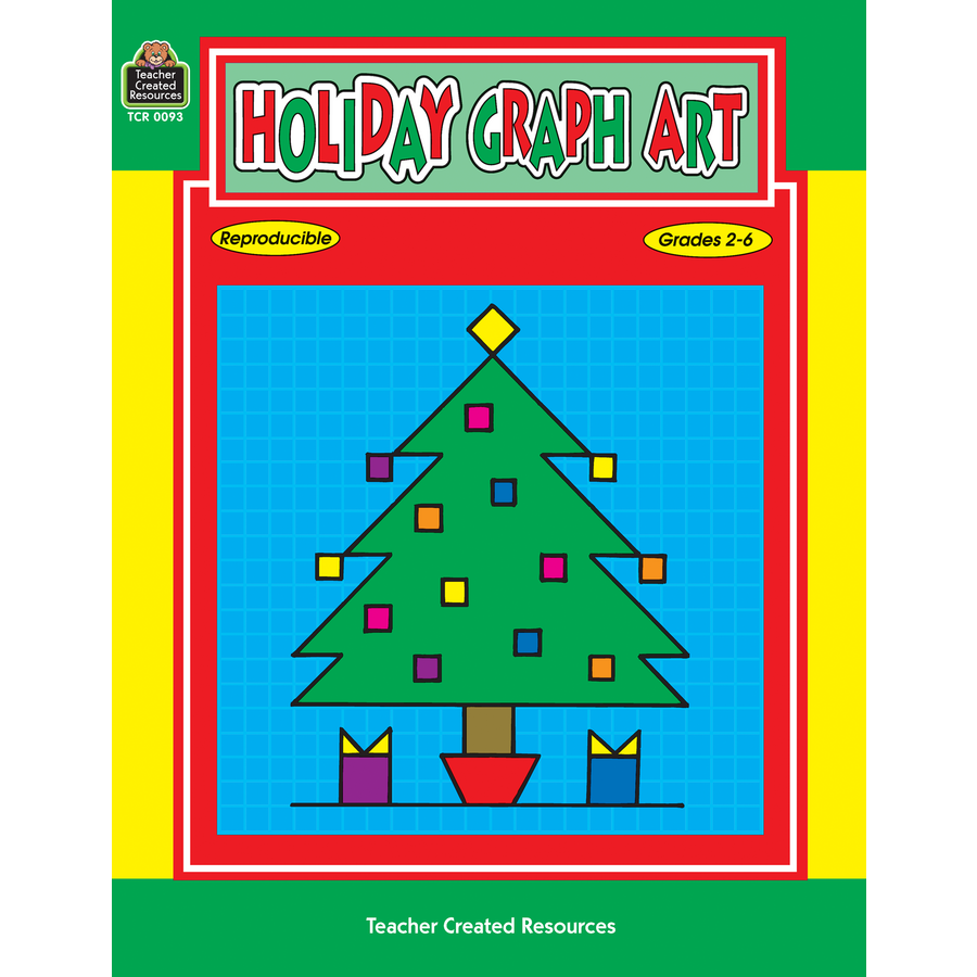 Printables Teacher Created Materials Inc Worksheets holiday graph art tcr0093 products teacher created resources image