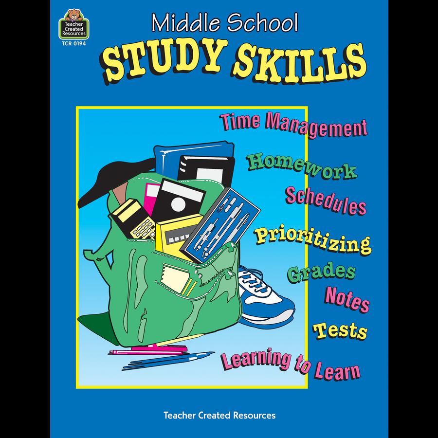 Study Teaching: Middle School Study Skills - TCR0194
