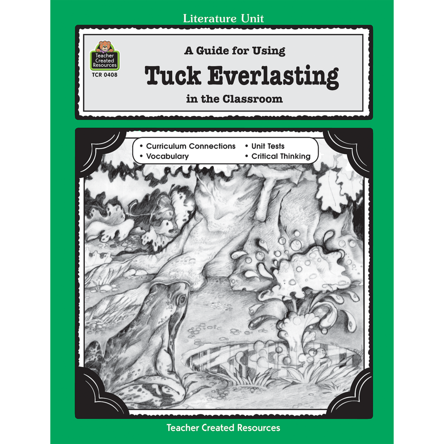 tuck everlasting book essay Starting an essay on natalie babbitt's tuck everlasting organize your thoughts and more at our handy-dandy shmoop writing lab.
