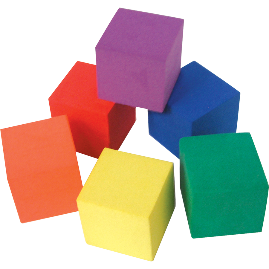 White Foam Blocks Building Blocks Classroom