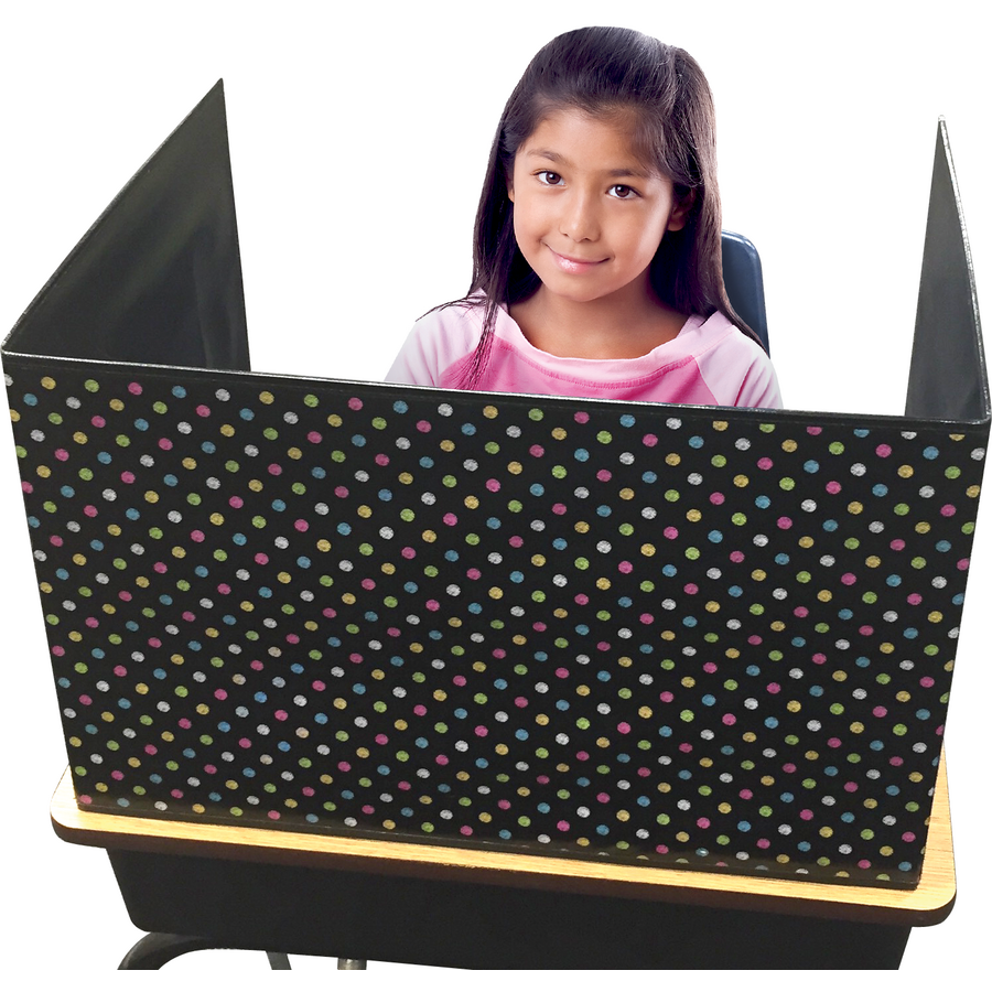 Chalkboard Brights Classroom Privacy Screen Tcr20763