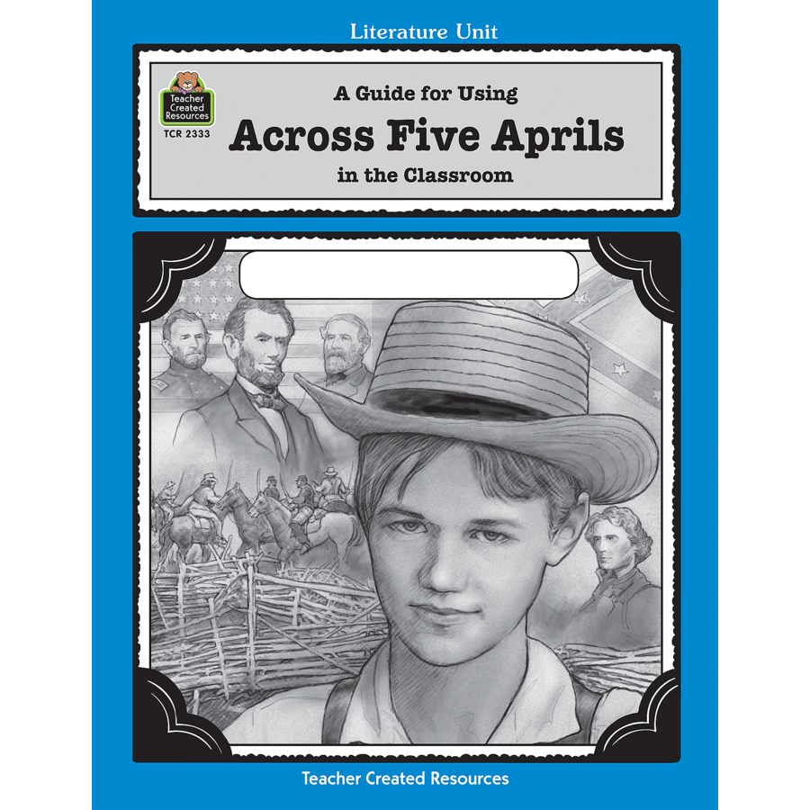 a review of the book across five aprils Irene hunt is the author of many distinguished books for young people her first novel, across five aprils, was a newberry honor book and received a lewis carroll shelf award.