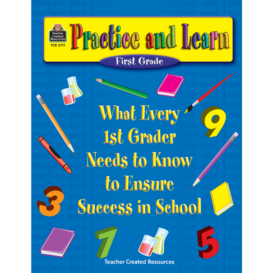 Worksheets Teacher Created Materials Inc Worksheets practice and learn 1st grade tcr2711 teacher created resources image