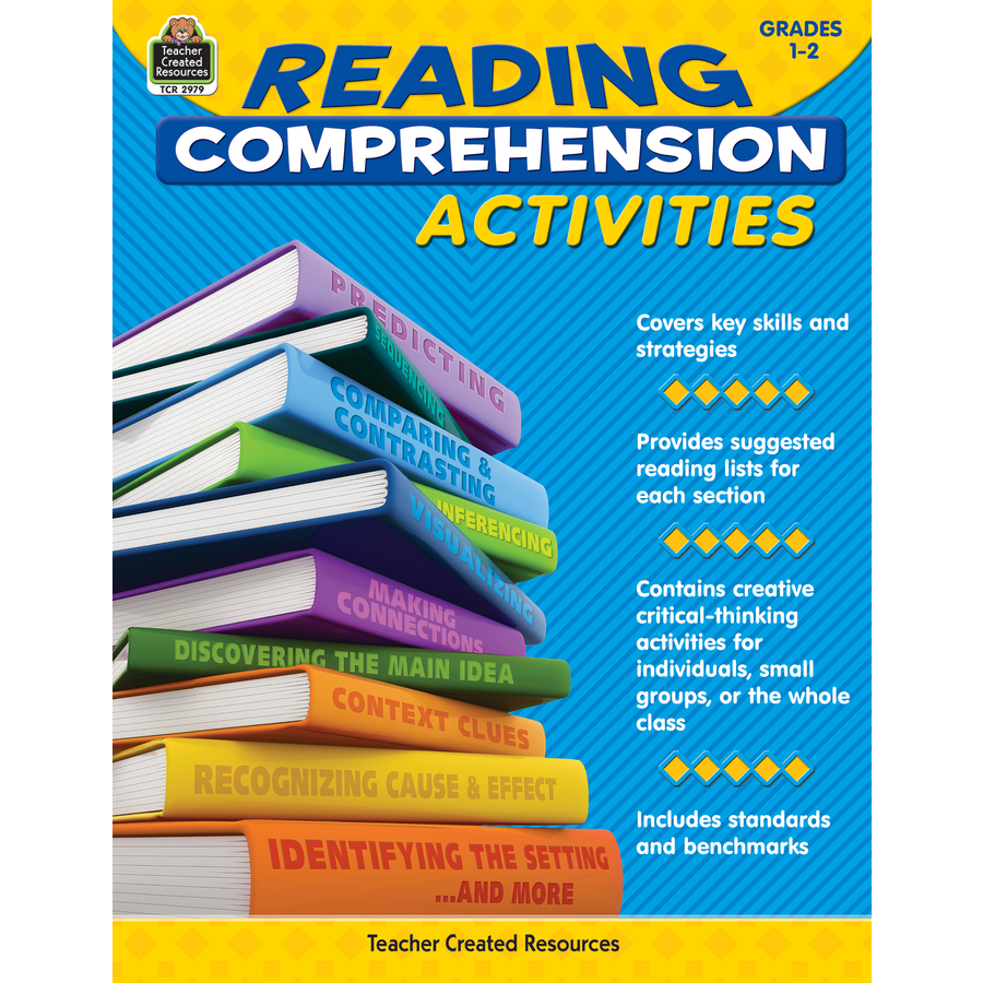 Reading comprehension activities grade 1 2 tcr2979 171 products
