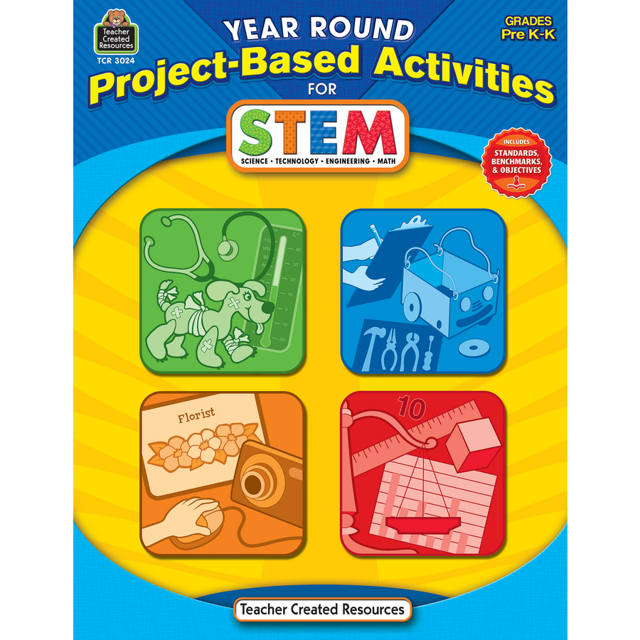 Stem School Kindergarten: Year Round Project-Based Activities For STEM PreK-K